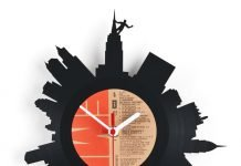 RE_VINYL clock by Pavel Sidorenko – upcycleDZINE