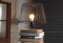Stacked Books Table Lamp by Dan Faires – upcycleDZINE
