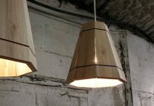 Pallet Wood lampshade by FactoryTwentyOne – upcycleDZINE