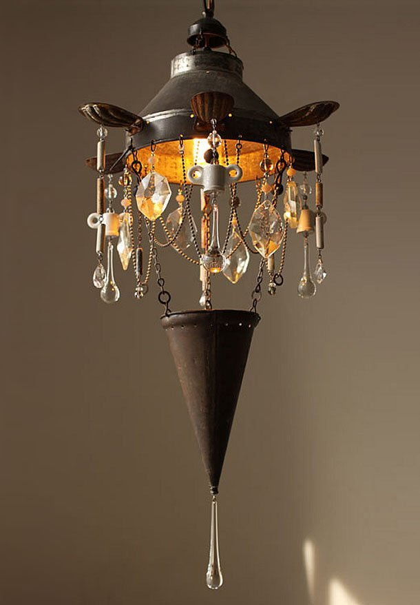 A feast of objects: Chandeliers by Madeleine Boulesteix – upcycleDZINE
