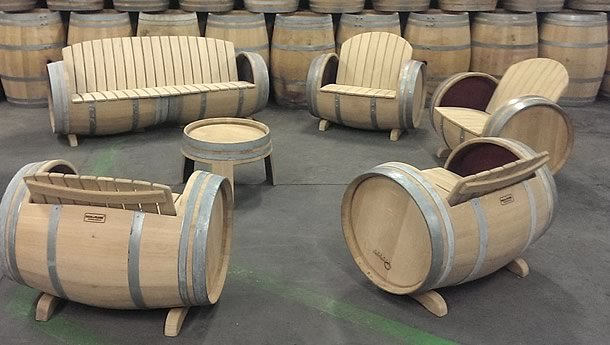 wood barrel furniture. Wine Barrel Furniture By Balk En Plank \u2013 UpcycleDZINE Wood O