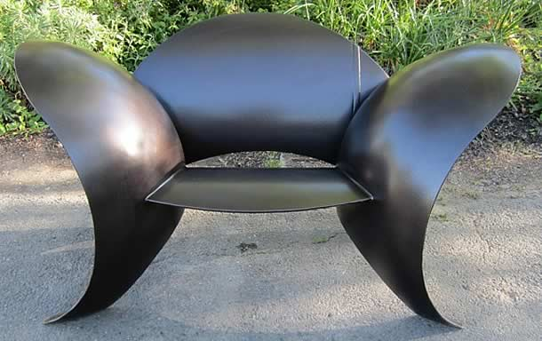 Propane Tank Seating Sculptures by Colin Selig