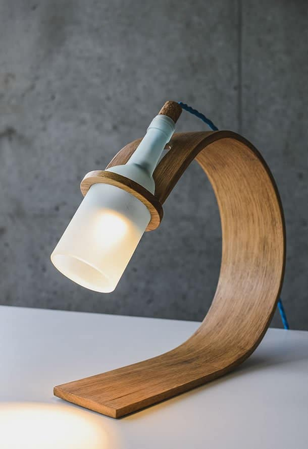 QUERCUS: Stylish Sustainable desk lamp by Max Ashford – upcycleDZINE