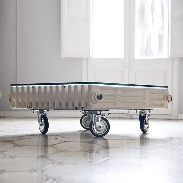 Radiator Table by Bonba studio – upcycleDZINE