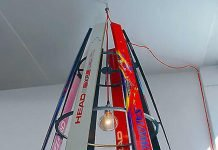 SKI-CHANDELIER by Willem Heeffer – upcycleDZINE