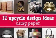 12 upcycle design ideas using paper