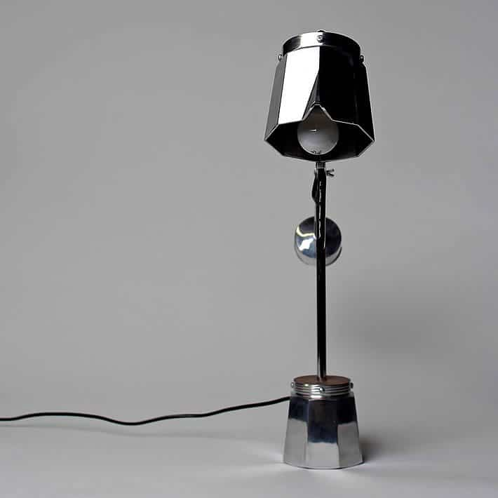Espresso Maker Desk Lamp by Beau Birkett – upcycleDZINE