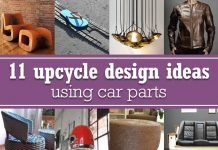11 upcycle design ideas using car parts – upcycleDZINE