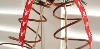 DIY: Upcycled Bed Spring Christmas Bells by Dinah Wulf – upcycleDZINE