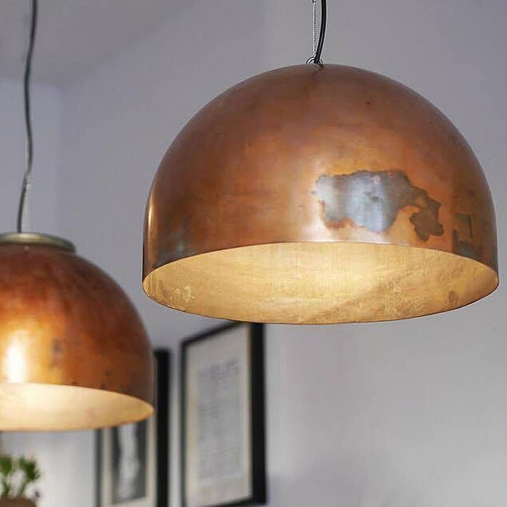 BOILER LIGHT: copper pendant lamp by Indusigns – upcycleDZINE