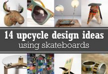 14 upcycle design ideas using skateboards – upcycleDZINE
