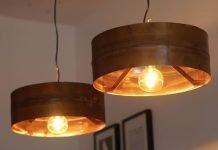 COPPER MOON: old boiler turned into stylish pendant lamp by Indusigns – upcycleDZINE