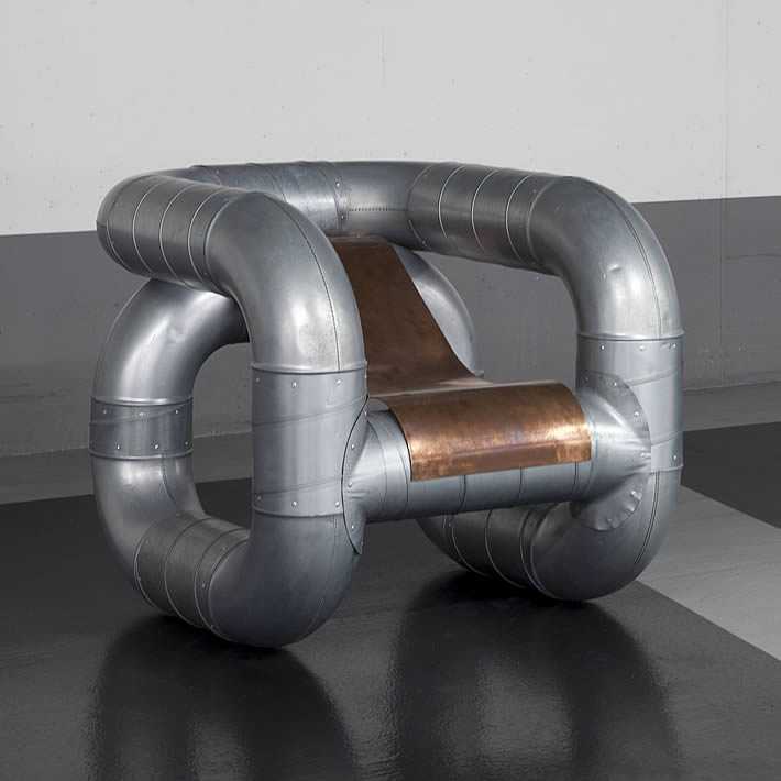 TUBULAR: pipe chair by Lucas Muñoz – upcycleDZINE